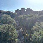 En las inmediaciones del Castillo de Burriac