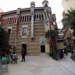 Jardines de la Casa Vicens de Gaudí
