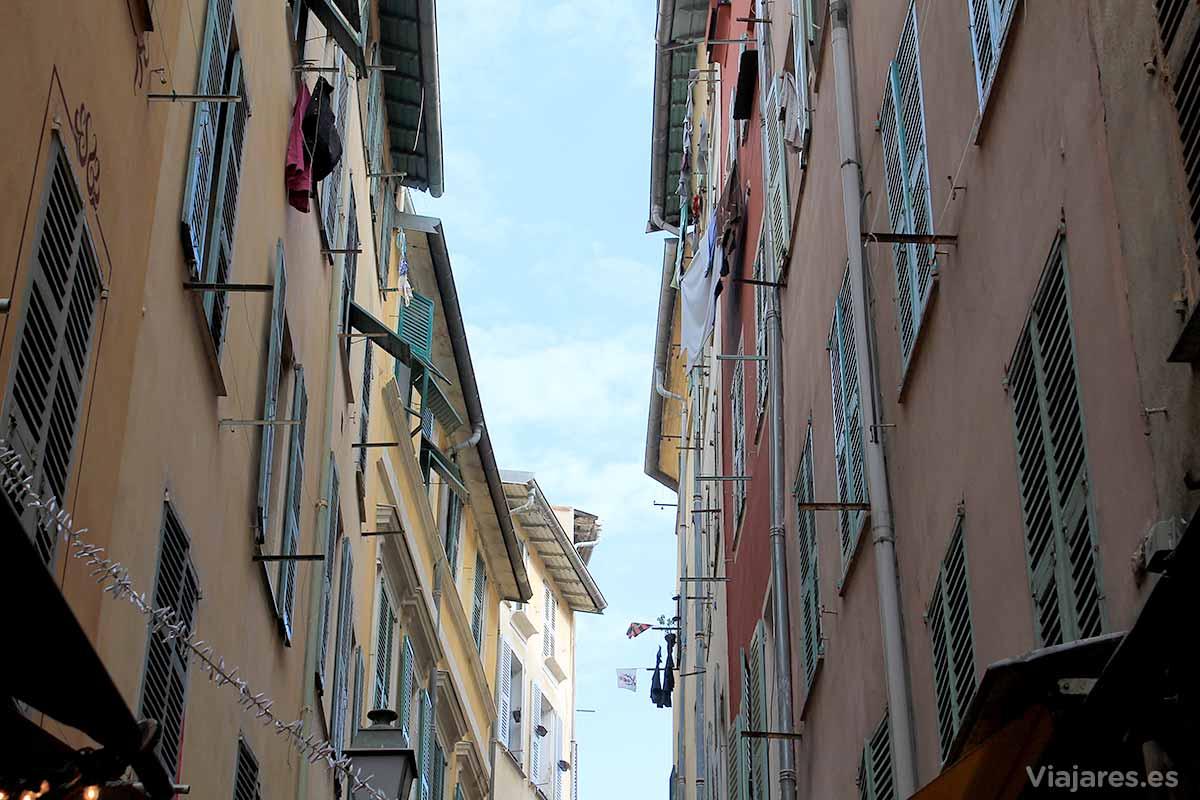 Callejuelas de la Vieille Ville de Niza