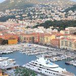 Panorámica del Puerto de Niza