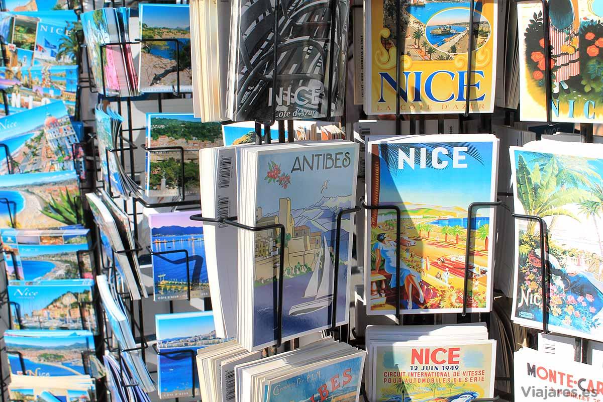 Postales de Niza, Francia