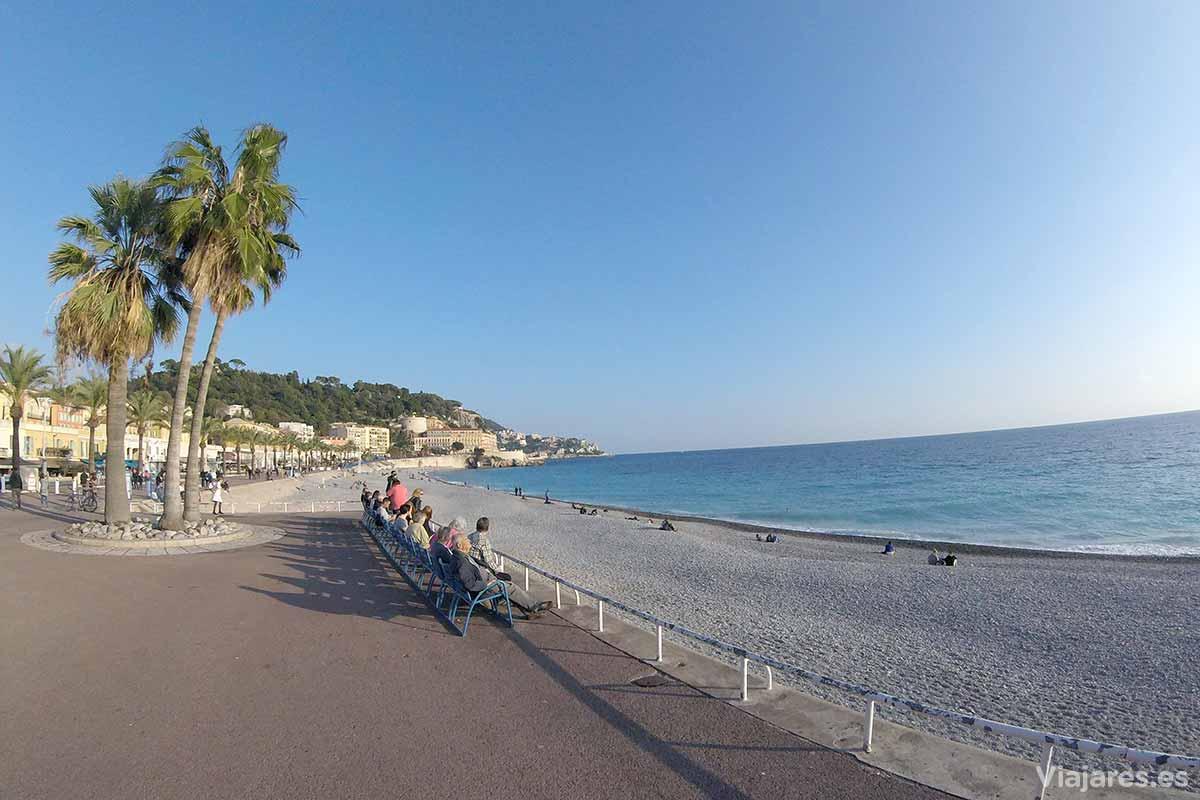 Promenade des Anglais en Niza