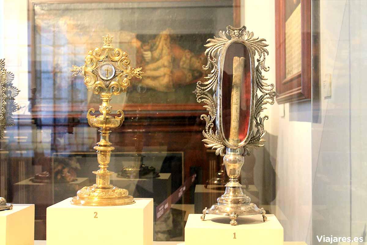 Reliquias en el Museo Nacional del Virreinato