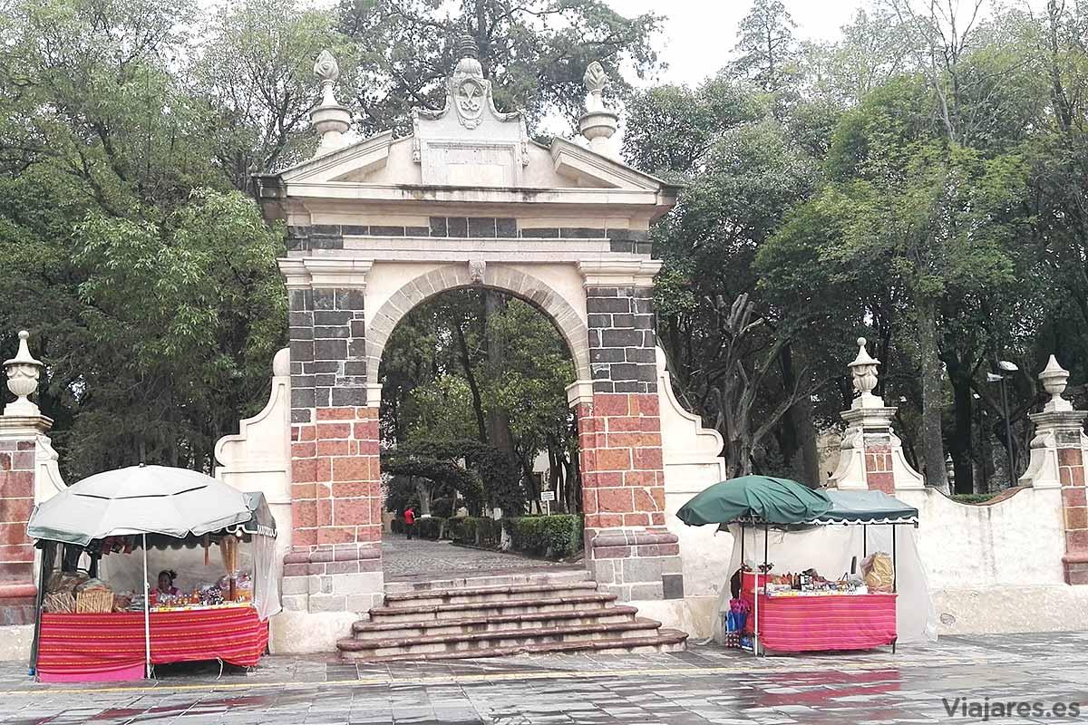 Parque en Teopotzolán