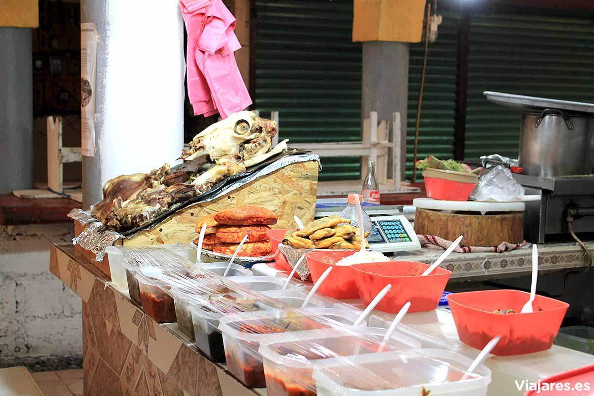 Mercado Municipal de Teopotzolán