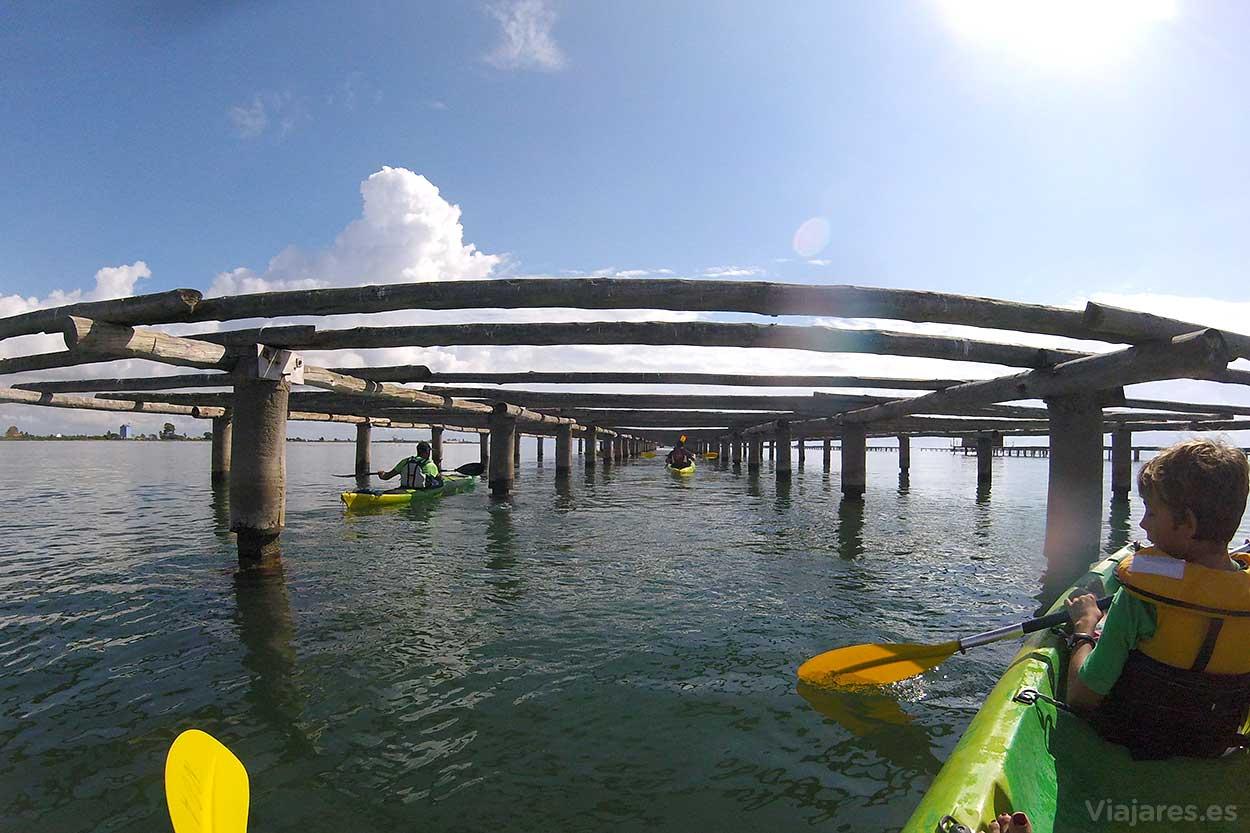 Paseo en kayak por el Delta del Ebro